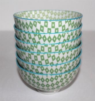 Asia art factory 253g 1 1 stk japan reis suppe tee tasse matcha schale pepita retro gr n - Reis kochen tasse ...