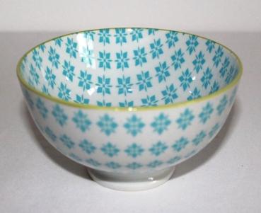 Asia art factory 253hb 1 1 stk japan reis tee tasse matcha schale pepita retro hellblau - Reis kochen tasse ...