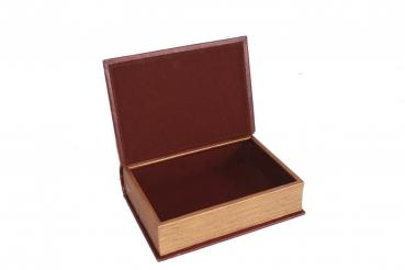 Asia Art Factory 061 Buch Attrappe Kiste Holz Box Holzkiste