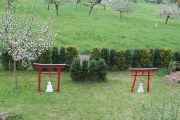 asia art factory torii 03 japan garten holzbogen torbogen tor holz feng shui asien 175 x 180 cm. Black Bedroom Furniture Sets. Home Design Ideas