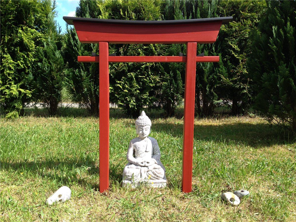 asia art factory torii 22 japan style garten holzbogen torbogen tor holz feng shui buddha asien. Black Bedroom Furniture Sets. Home Design Ideas