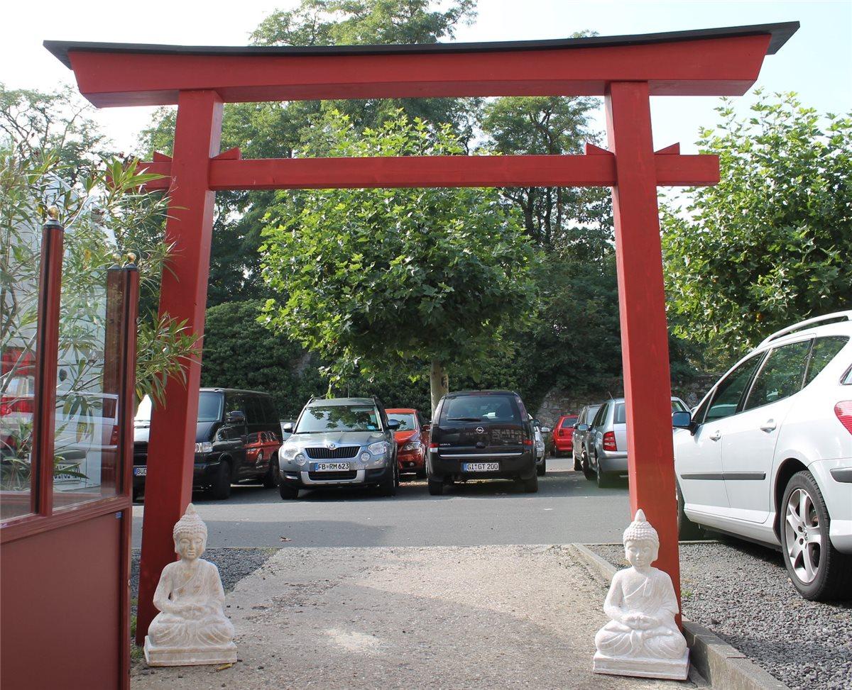 asia art factory torii 07 japan garten holzbogen torbogen tor holz feng shui asien 295 x 325 cm. Black Bedroom Furniture Sets. Home Design Ideas